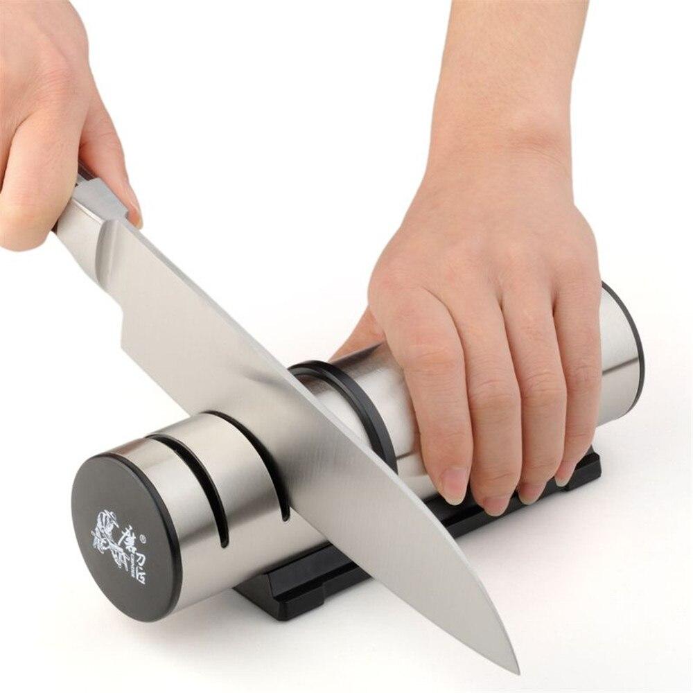 grinder migliore vendita t1202dc coltello da cucina temperamatite in tre rettifica fasi famiglia cucina affilatura strumenti