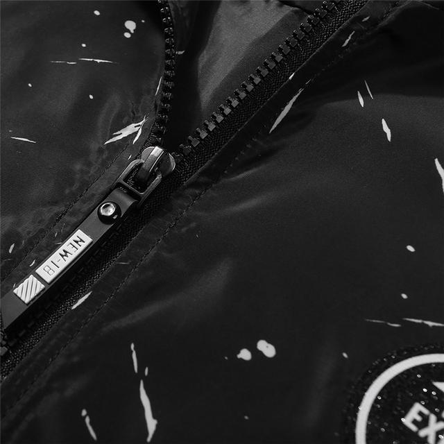 BSETHLRA 2017 New Jackets Men Autumn Top Casual Design Hooded Printed Thin Slim Fit Hip Hop Fashion Jaqueta Masculino M-3XL