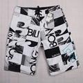 совет шорты Высокое качество мужские шорты бордшорты летний спортивный пляж Homme бермудские печать быстрый сухие серебряные Boardshorts