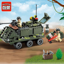 167Pcs Combat Zones Military Army Armored Car Chariot Weapon Model Building Blocks Set Bricks Playmobil Toys pedestrian zones car free urban spaces
