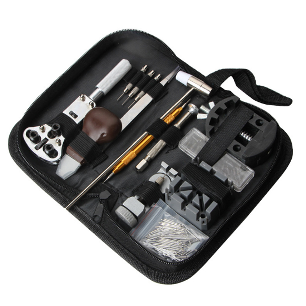 Watch repair tool, watch repair kit, tool set, 136 watch tool opener repair table combination