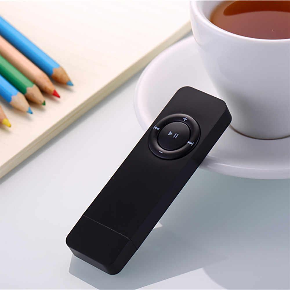 แบบพกพา 2GB U Disk Lossless เสียงเพลง Media MP3 ชุดหูฟังเครื่องเล่น Micro TF Card Media ฟรี Dropship