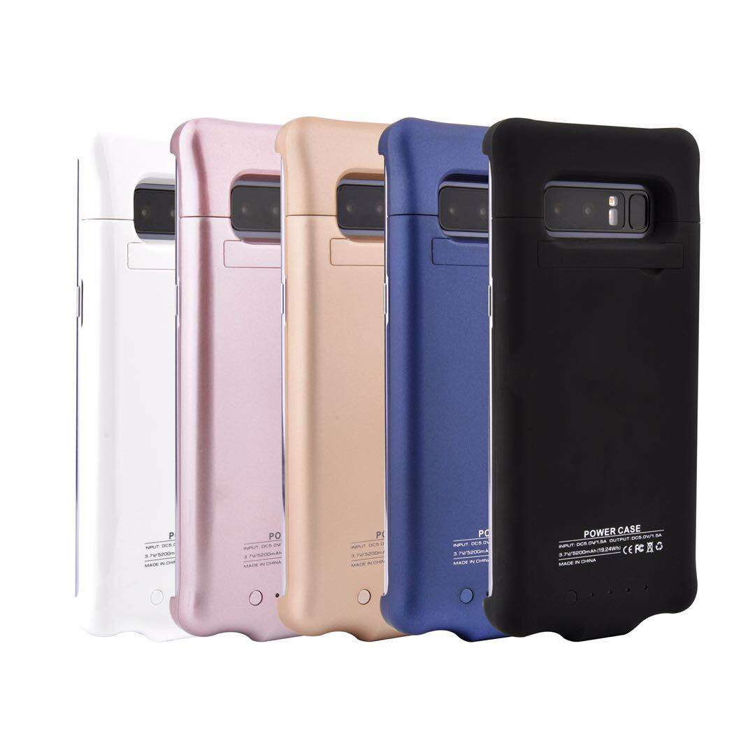 Power Case Charger Case For Samsung Galaxy Note 8 5200mAh Power Bank Case Ultra Slim External Backup Battery Charging Cover