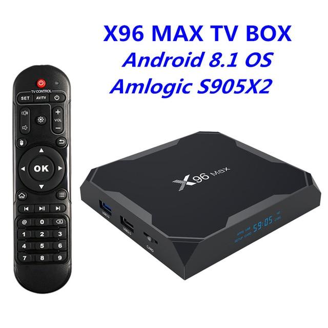 tv box android 8.1 4gb 64 gb xiaomi  2019 New TV BOX Android 8.1 OS Amlogic S905X2 Quad Core 4GB RAM 32GB ...