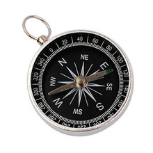 Pocket Compass Compass-Navigation-Tool Wild-Survival Hiking Mini Professional Aluminum