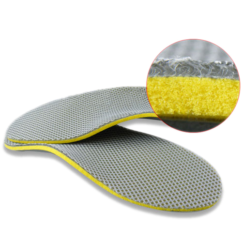 1 pair 3D premium women men comfortable shoes orthotic insoles inserts high arch support pad 3