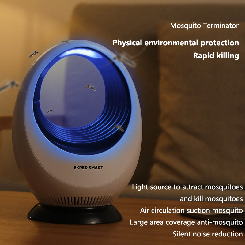 Image 4 - EXPED SMART Electric Mosquito Killer lamp USB Electronics anti mosquito Lamp Pest Repeller-in Repellents from Home & Garden