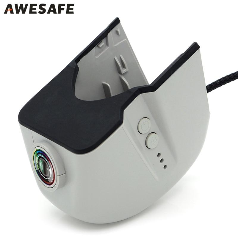 AWESAFE WiFi Car DVR Registrator Dash cam Camera Novatek 96655 FHD 1080p Video Recorder for Old Audi A1 A3 A4 A5 A6 A7 Q3 Q5 Q7 wifi car dvr dash cam camera 1080p video recorder novatek 96655 imx 322 for vw volkswagen passat touran skoda golf registrator