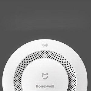 Image 3 - Xiaomi mijia honeywell czujnik dymu pożarowego czujnik alarmowy dźwiękowy wizualny czujnik dymu zdalny mi Home inteligentna kontrola aplikacji