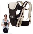 WENDYWU 2-30 Meses Respirável Multifuncional Frente Virada Baby Carrier Infantil Confortável Sling Backpack Envoltório Bolsa Canguru