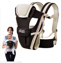 WENDYWU 2-30 Months Breathable Multifunctional Front Facing Baby Carrier Infant Comfortable Sling Backpack Pouch Wrap Kangaroo