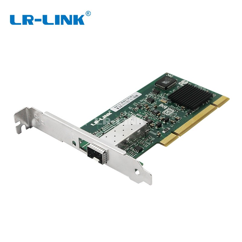 LR-LINK 7210PF-SFP PCI Gigabit Ethernet Lan Adapter 1000Mb Fiber Optical network card Desktop PC Intel 82545 NIC winyao usb100f usb2 0 to 100fx sfp desktop fiber ethernet network card adapter ax88772b nic for pc macbook air laptop notebook