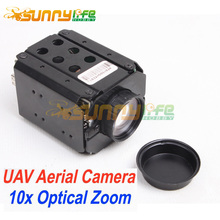 1080P 10x 3mega pxl HD Optical Zoom Camera with TF Storage HDMI for FPV UAV Aerial Photography