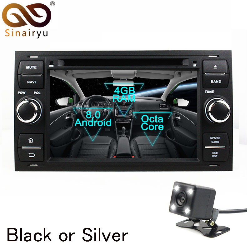 Android 8 0 Octa Core Car DVD Player for Ford Focus Mondeo C MAX Galaxy GPS