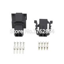 все цены на 5 Sets Female And Male 4 Pin Auto Connector Oxygen O2 Sensor Plug Automotive For VW DJ7049A-3.5-11/21 онлайн