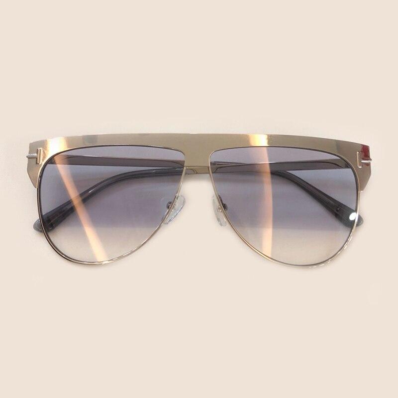 Pilot Style Women Sunglasses Brand Designer High Quality Oculos De Sol Feminino Alloy Frame Mirror Coating Lens Eyewear