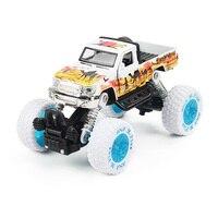 1:30 Mini Alaşım Bahar Ataletsel Sürücü Oyuncak Araba çocuk Bahar Amortisör Modeli Dört tekerlekten çekiş için Çapraz ülke Oyuncak Araba