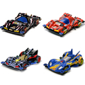 Original DIY 4WD Racing Car 4x4 Driving Car Toys Let's Go WGP MAX Cartoon Collectable Assembled Model GIfts For Kids And Friends