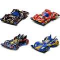 Original DIY Brinquedos Do Carro Carro De Corrida 4WD 4x4 Condução Vamos WGP MAX Desenhos Animados Coleccionáveis Modelo Montado Presentes Para As Crianças E Amigos