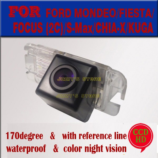 car rear view camera rear paking monitor for CCD HD FORD MONDEO/FIESTA/FOCUS (2C)/S-Max/CHIA-X/KUGA Car Rearview Reverse Backup