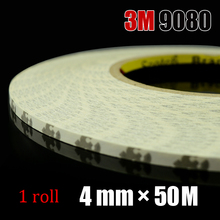 Brand New 4mm*50M 3M Double Sided Adhesive Tape for phone Repair, LED Strip Joint, Electrical Panel Screen Stick