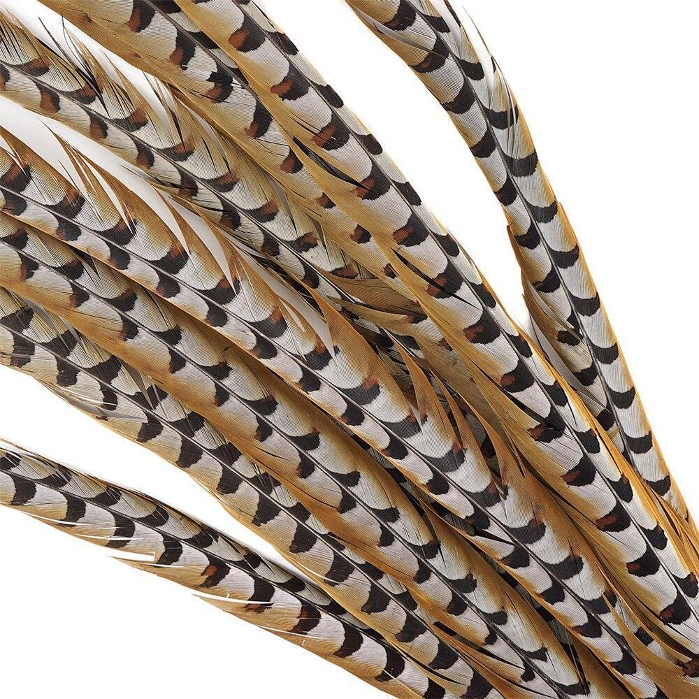 """12-72 """"Long naturel Reeves Venery faisan queue plumes de mariage décorations bricolage Halloween carnaval plumes pour artisanat plumes"""