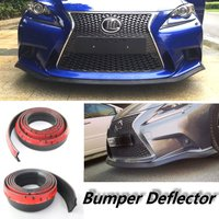For Lexus IS IS200 IS250 IS300 IS350 For TOYOTA Altezza / Car Bumper Lip / Body Kit / Front / Rear Skirt Spoiler / Rubber Strip