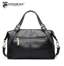 ZOOLER2016 new high-quality fashion luxury brand handbag genuine leather shoulder bag counter genuine, female well-known brands