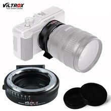 Viltrox NF-M43X Reforço Velocidade Redutor Focal Da Lente Anel Adaptador Para Nikon G/D Lente para Micro Four Thirds E-M10 GX7 GH5 câmera
