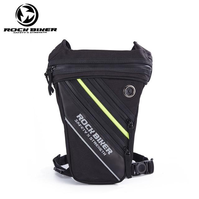 5b3e541aad56 Рок Байкер водостойкая капля наножная сумка для мотоциклиста сумка Рыцарь поясная  сумка рюкзак для активного отдыха