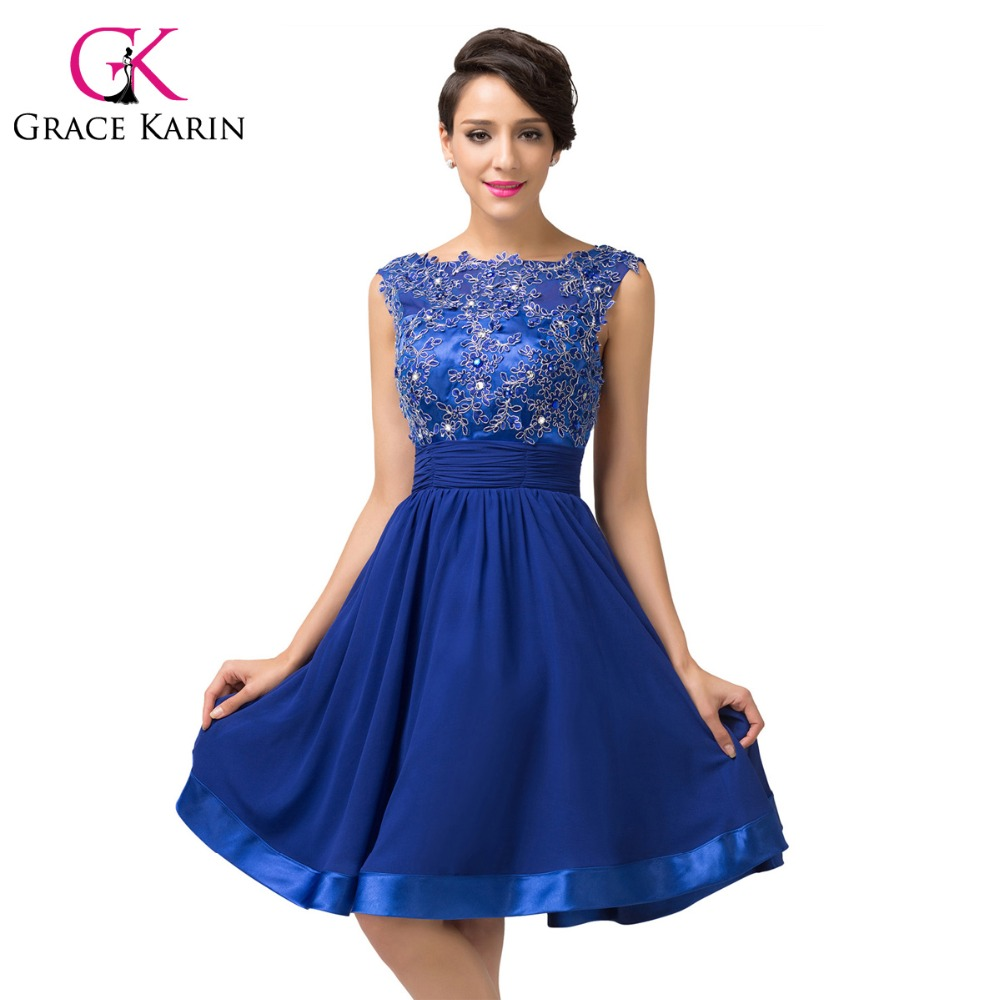Royal Blue Cocktail Dresses - Qi Dress