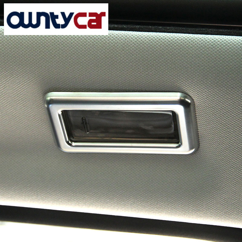 For Land Rover Discovery Sport ABS Chrome Rear Reading Lamp Frame Cover Trim For Jaguar F-Pace f pace Car-styling 2pcs/set avel avs400dvr 02 для jaguar land rover