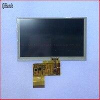 New 5'' inch for Navi N50 HD GPS HD Car Navigators 40 pin LCD display with touchscreen KD50G21-40NT-A1 HSD050IDW1-A20-A lcd