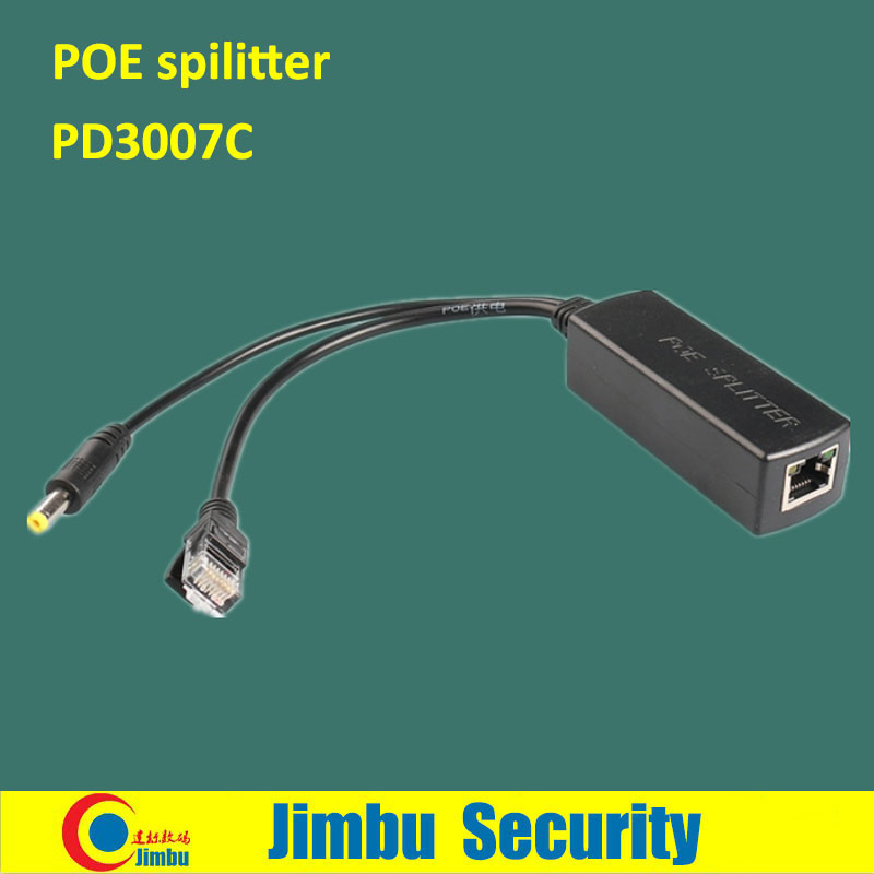 Gigabit POE Splitter Output 12V 1~2a 1000M High-speed Network Transmission PD3007C Support IEEE802.3af Standard POE Power Supply