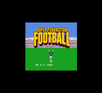 Супер играть действие Футбол 16 бит большой серый карточная игра для ntsc США игровой консоли