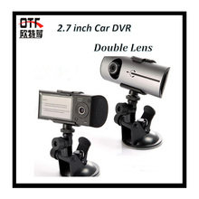 2.7″ TFT LCD FHD 1080P Dual Camera Car DVR  with GPS Track 3D G-Sensor Cam Video Camcorder Cycle Recording Digital Zoom