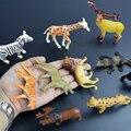 Небольшую пластиковую игрушку животных, диких животных миниатюрная фигура диких животных модель игрушки набор мини игрушка для мальчика brinquedo menino мультфильм фигурка