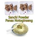 Envío gratis top grado 50g Yunnan sanqi, panax notoginseng polvo, frutos secos, pseudo ginseng en polvo, hierbas chinas