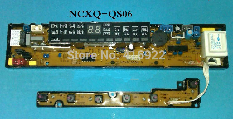 Free shipping 100%tested for Skyworth washing machine board control board XQB60-863S NCXQ-QS06J motherboard on sale free shipping 100% tested for washing machine board konka xqb60 6028 xqb55 598 original motherboard ncxq qs01 3 on sale