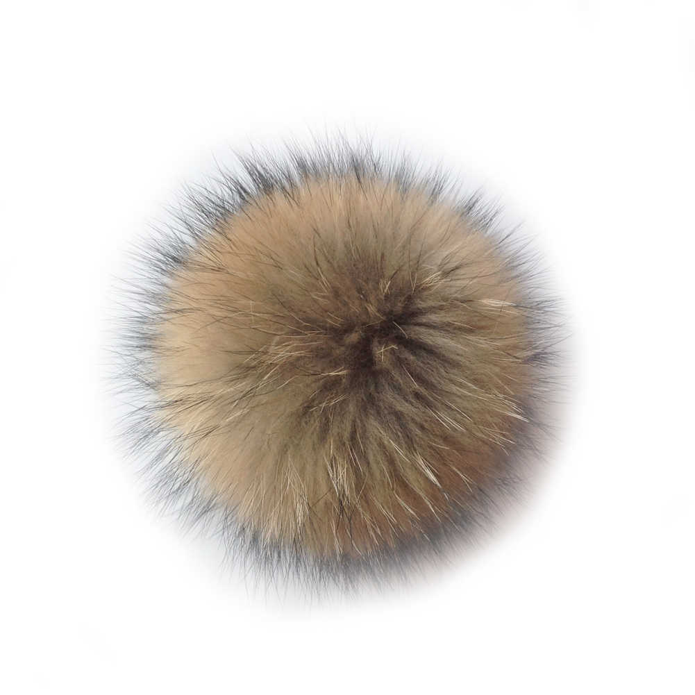 YJSFG CASA Transporte Rápido Marrom Pele De Vison Pom Bola Celular telefone Chaveiro Pingente de Bolsa Chapéus Charme Decoração Crianças Decoração Hairball