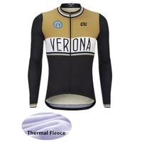 ALE Wielertruien Winter Thermische Fleece Lange Mouwen Ropa Maillot Ciclismo Fiets MTB Fietsen Kleding Zwart Wit Goud