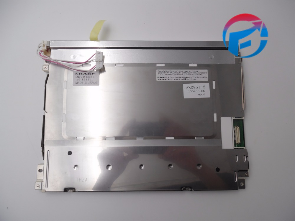 LQ104V1DG51 10.4 LCD Panel Screen 640*480 Used&original original lcd 40z120a runtka720wjqz jsi 401403a almost new used disassemble