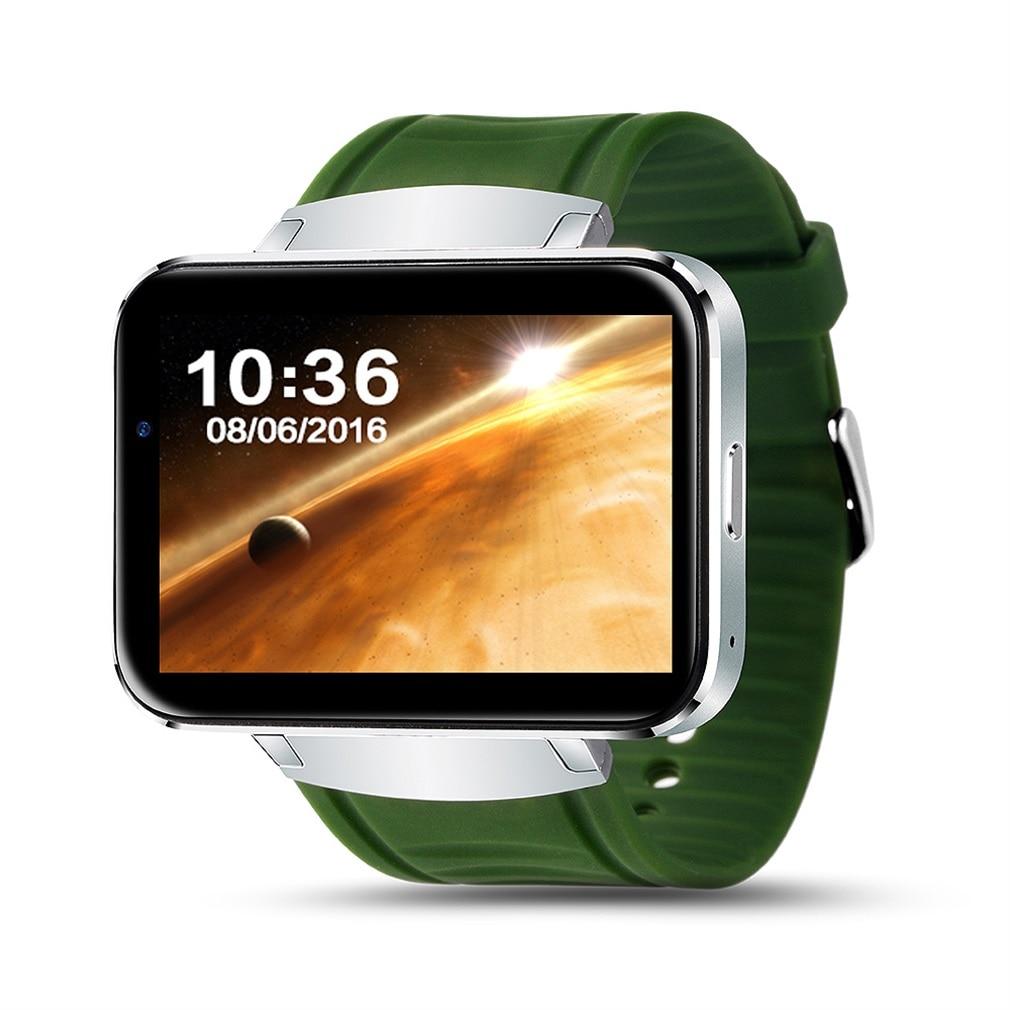 цена на W1 Smart Watch Dual Core 2.2 Inch Display Bluetooth V4.0 Sleeping Monitor Smart Wrist Watch 2018 New