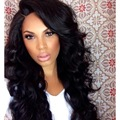 Hot Cheap Synthetic Wigs With Bang Long 30inch Big Body Wavy Natural Heat Resistant Synthetic Hair Wigs For Black Woman