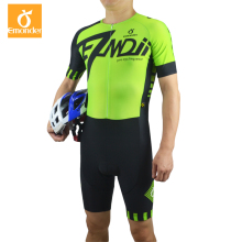 EMONDER 2019 Men Triathlon Cycling Jersey Pro Team Skinsuit MTB Road Bike Ropa Ciclismo Downhill
