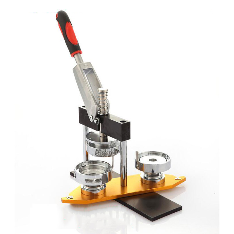 25mm/32mm/44mm/58mm/75mm Badge Button Maker Machine