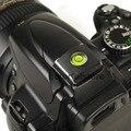 Одноместный 1 Ось Bubble Духу Уровень Градиометр на Камеры Флэш Горячий Башмак Горячий Башмак для Canon Nikon Универсальный DSLR SLR