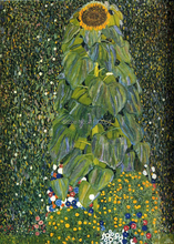 landscape frameless paintings pastoral canvas paintings masterpiece reproductionThe Sunflower, c.1906-1907  By: Gustav Klimt frameless canvas paintings contemporary abstract paintings masterpiece reproduction untitled purple by chu teh chun art
