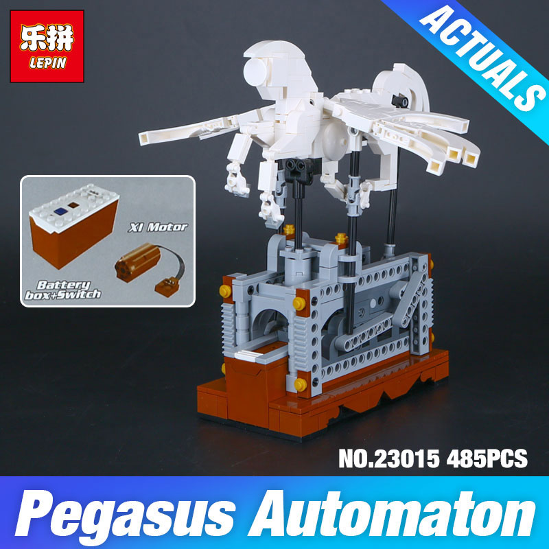 NEW Lepin 23015 485Pcs Technic Series The Pegasus Automaton Mechanical Flying Horse Set Educational Building Blocks Bricks Toys new lp2k series contactor lp2k06015 lp2k06015md lp2 k06015md 220v dc