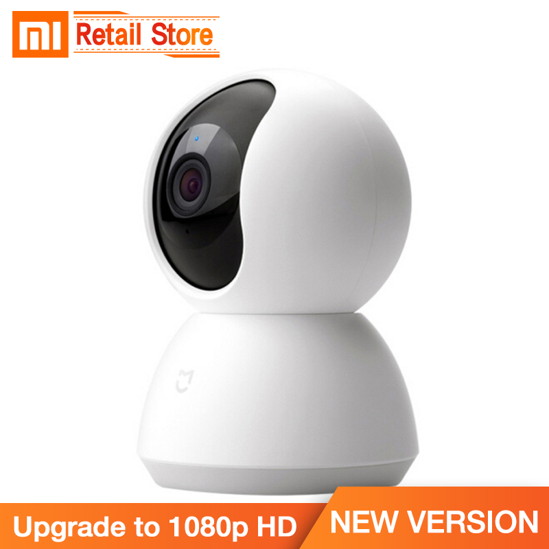 2018 Original Xiaomi Mijia Smart Camera 1080P HD Night Vision AI Enhanced Motion Detection Inverted Installation Xiomi Kamera